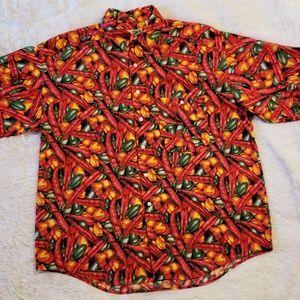 Hot vintage Johnny Cotton shirt